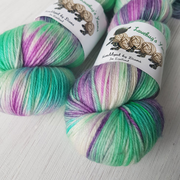 Unicorn Mane - MCN Sock - Superwash Merino Cashmere Nylon - Fingering weight yarn