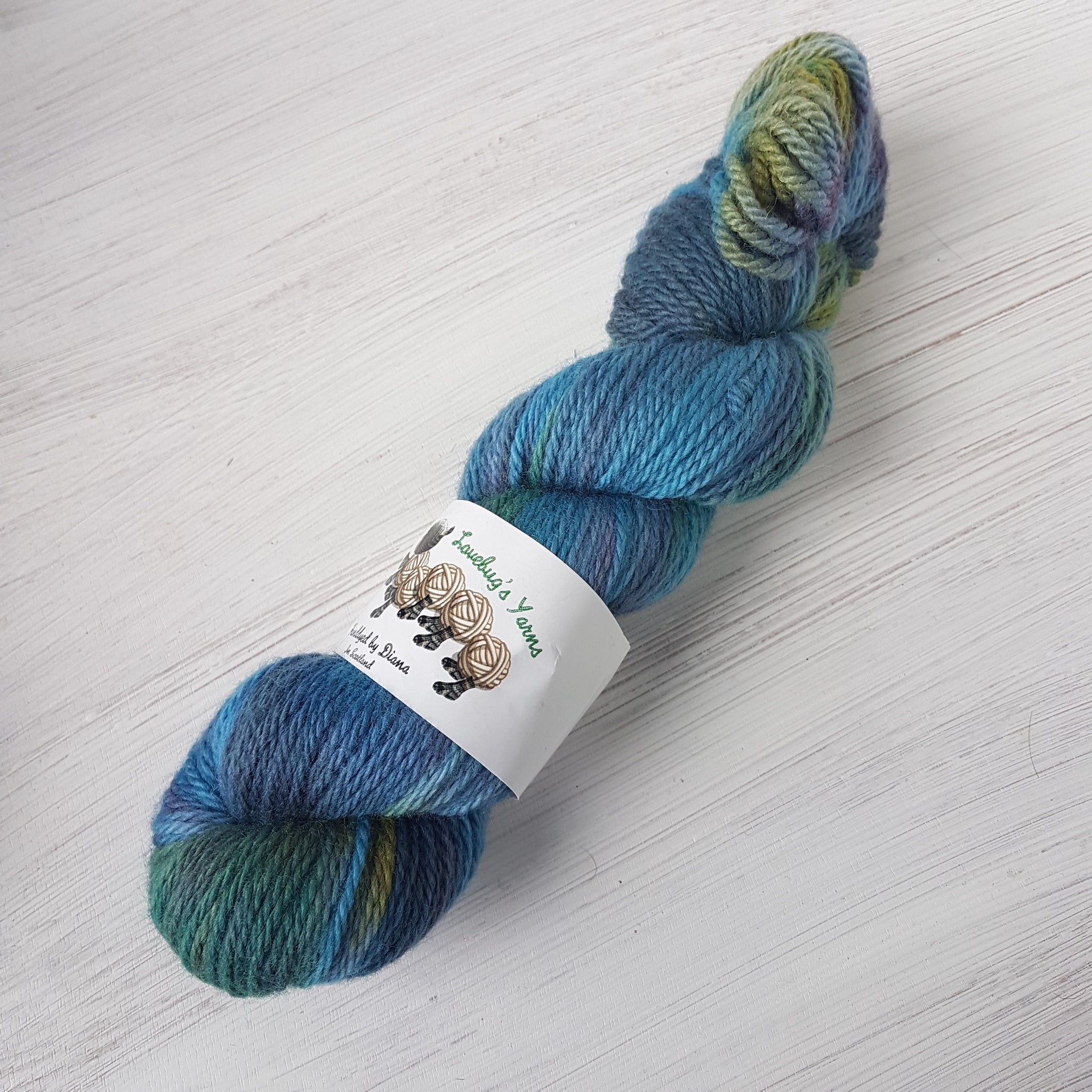 River Tay - BFL Aran (discontinued) - Bluefaced Leicester wool - Aran weight yarn