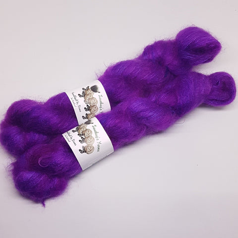 Amethyst - KidSilk Lace - Kid Mohair Silk - Lace weight yarn