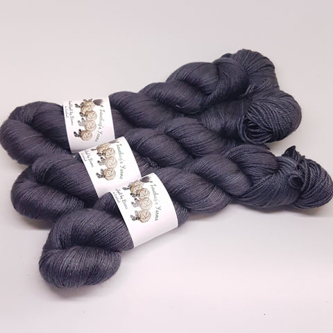 Night's Watch - MerinoSilk 4ply - Merino Silk - Fingering weight yarn