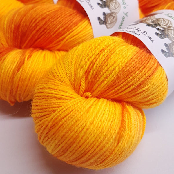 "Hjortron ""Cloudberry"" - Platinum Sock - Superwash Merino Nylon - Fingering weight yarn"