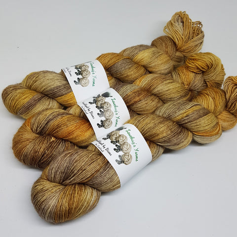 Clockwork - Platinum Sock - Superwash Merino Nylon - Fingering weight yarn