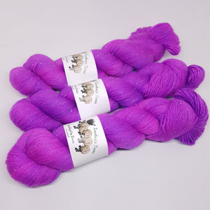 Deal With It - Sparkle Sock - Superwash Merino Nylon Stelina - Fingering weight yarn