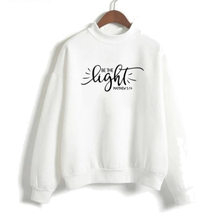 Load image into Gallery viewer, Matthew 5:14 High Collar Sweater