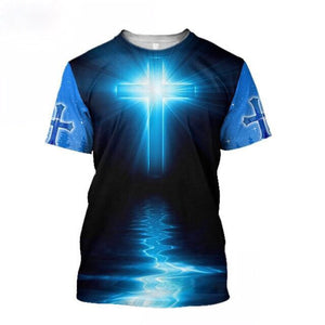 2021 New Summer Release Be The Light Eternal Life Tshirt