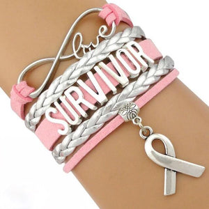 Breast Cancer Survivor Blessed Bracelet