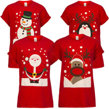 Load image into Gallery viewer, Adult Christmas Day Matching Family Dinner Tshirts