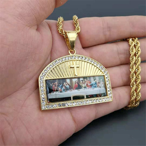 Last Supper Masterpiece Rope Chain