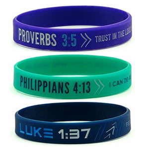 Simple Biblical Verse Bracelet Collection