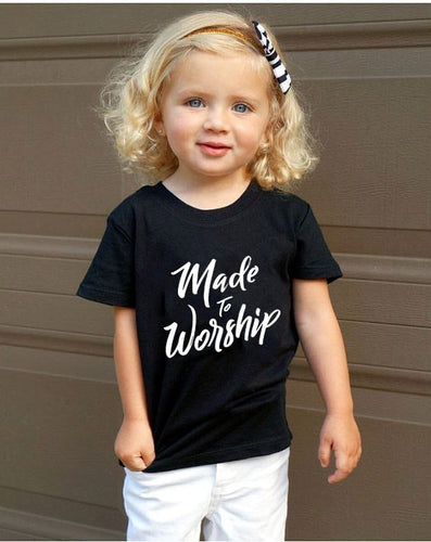 Made To Worship Children's Tshirt