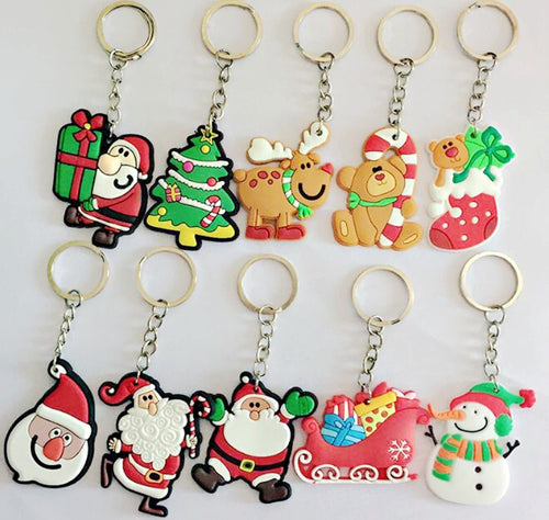 50 Assorted Keychains Per Lot