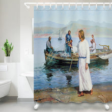 Load image into Gallery viewer, 4 Fishermen Shower Curtain