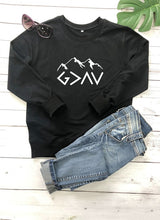 Load image into Gallery viewer, God Is Greater Than My Highs And Lows Sweatshirt