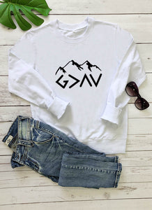 God Is Greater Than My Highs And Lows Sweatshirt