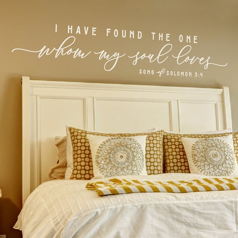 Song of Solomon Wall Vinyl