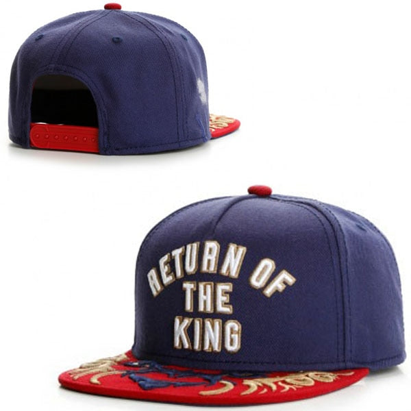 Return of The King Lion Of Judah Bill Snapback