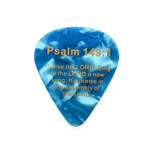 Bible Verse Pick Jesus Guitar Picks (lot of 100)