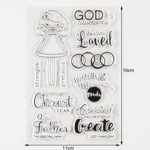 Load image into Gallery viewer, God is Awesome, You Are Loved Stamp Collection