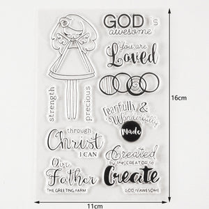 God is Awesome, You Are Loved Stamp Collection