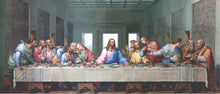 Load image into Gallery viewer, The Last Supper Vivid Cloth Fabric Unframed Poster