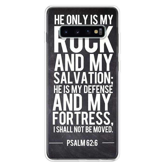 Rock and Salvation Samsung Galaxy Phone Case