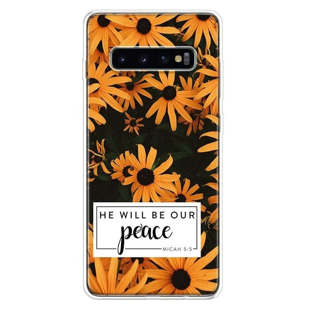 He Will Be Our Peace Samsung Galaxy Phone Case