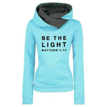 Load image into Gallery viewer, Matthew 5:14 Plush Fashion Sport Neck-warmer Hoodie
