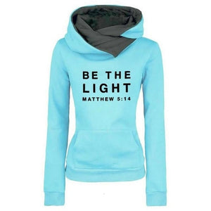 Matthew 5:14 Plush Fashion Sport Neck-warmer Hoodie