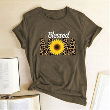 Load image into Gallery viewer, Blessed Mom Summer Tshirt