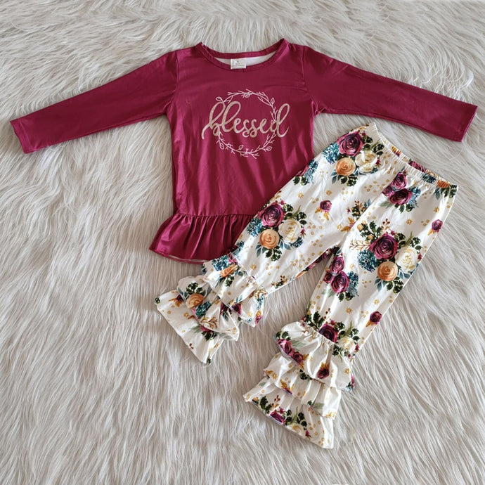 Blessed Spring Flare Children's Set