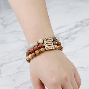 Strong in Christ Fashion Bracelet