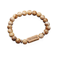 Load image into Gallery viewer, Strong in Christ Fashion Bracelet