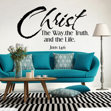 Load image into Gallery viewer, John 14:6 Wall Vinyl
