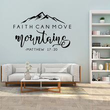 Load image into Gallery viewer, Matthew 17:20 Wall Vinyl