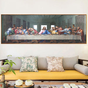 The Last Supper Vivid Cloth Fabric Unframed Poster