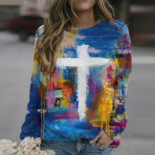 Load image into Gallery viewer, Paint Stroke Image and Likeness of A Creator Sweater