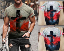 Load image into Gallery viewer, Artist Salvation Cross Tshirt