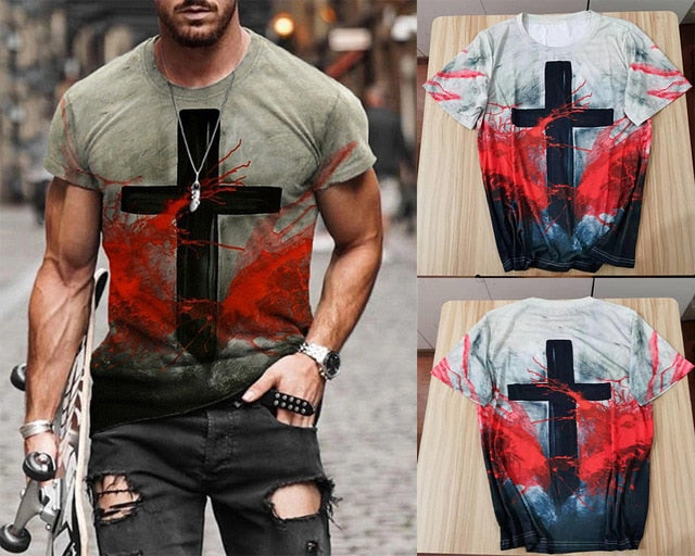 Artist Salvation Cross Tshirt