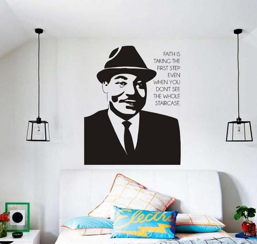 MLK Faith In Action Wall Vinyl