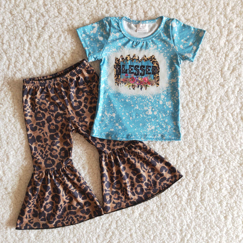 Leopard Blessed Spring Children's Set