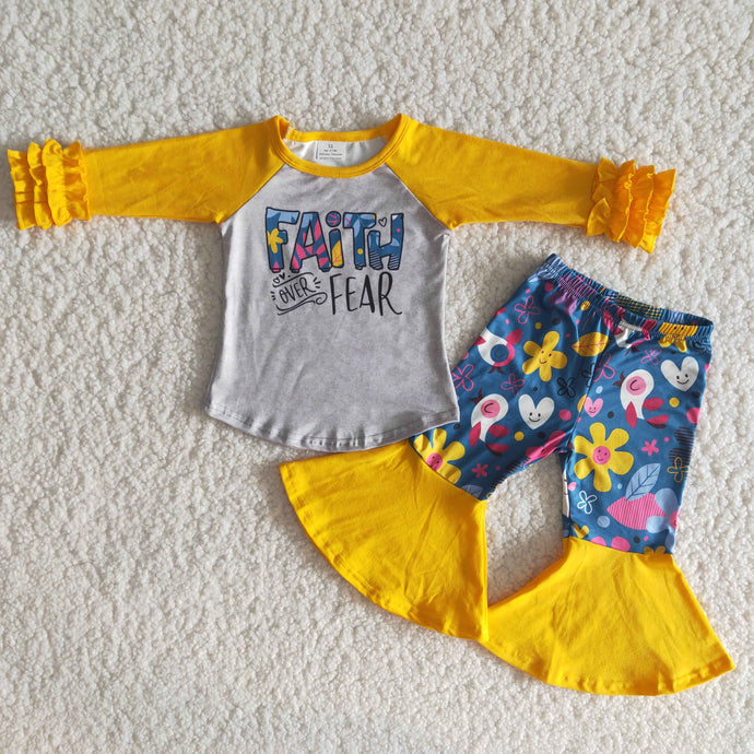 Faith Over Fear Flower Flare Children's Set