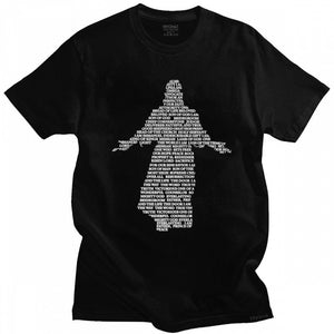 2021 New Release Spirit of Jesus Silhouette Tshirt