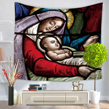 Load image into Gallery viewer, Mary's Blessing Vivid Wall Tapestry/Sofa Cover