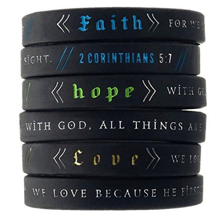 Biblical Concept Awareness and Reminder Bracelet Collection