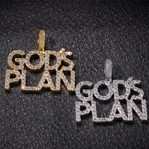 God's Plan Custom Chain Necklace