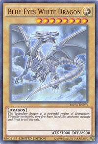 Blue-Eyes White Dragon [MVP1-ENSV4] Ultra Rare | Gauntlet Food & Games Kendaville