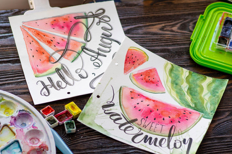 Mindful Lettering Workshop & Gift Options