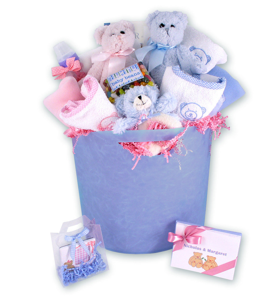 Double Vision Twins - Baby Gift Basket