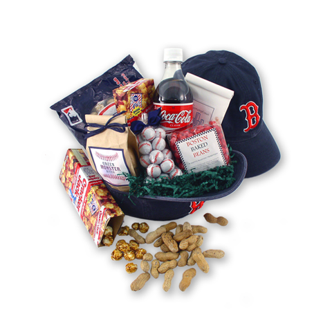 Play Ball - Red Sox Baseball Gift Basket