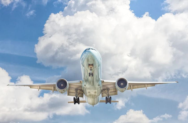An aircraft taking off